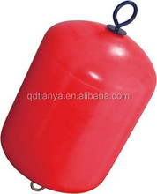Cylindrical type Protection equipment dock EVA foam filled fenders ship floating buoys with sound guarantee