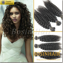 hot products cambodian human hair weave ,kinky hair