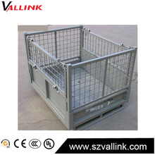 Hot Sale Folding steel Medium Duty Wire Container big cage pallet