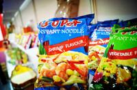 shrimp 85g instant noodle / sample free HALAL noodle GMO free seasoning no artificial additives