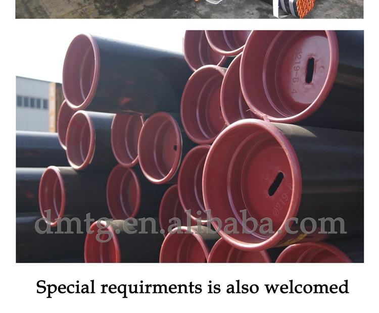 Peso astm a36 astm a53 petróleo e gás de carbono leve tubo de aço