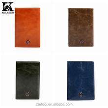 SK-8030 Leather passport holder manufacturer