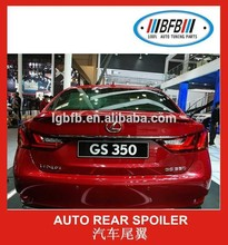 Auto spoiler for sale rear spoiler wing for lexus GS350