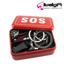 Emergency SOS Survive Tool Pack SOS Outdoor Emergency Survival Kit