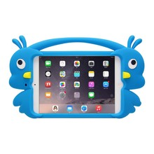 Yellow duck silicone case for ipad mini1/mini2/mini3/ipad air