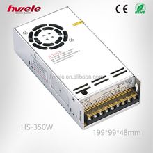 HS-350W China Manufacturer Switch Mode Power Supply With SGS,CE,ROHS,TUV,KC,CCC Certification