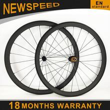 18 months warranty! basalt brake surface 38mm tubular full carbon bicycle wheelset 700c