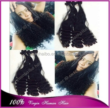 7a quality 1b# 100 virgin malaysian hair posh curl aunty funmi hair weft