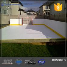 synthetic ice sheets for playing hockey, Polyethylene Hockey rink factory
