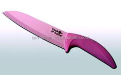 colour blade ceramic knife as bread slicer