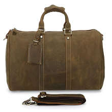 7077R Wholesale Prices Handbag Multifuctional Mens Leather Travel Bag