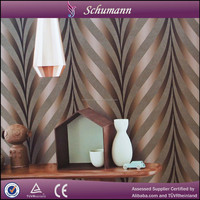 Good quality and nice effect 3D Suede wallcovering interior wallpaper