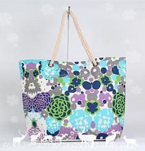 2015 new style Canvas tote Straw handbag