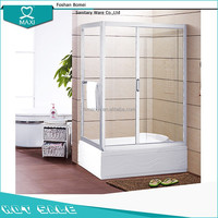 M-1017 shower room paint glass shower screens for wet rooms bath room showers