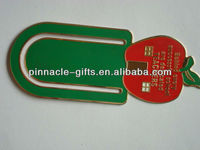 brass photo etch high quality book marks/metal book clips