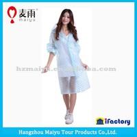 Maiyu eva material transparent clear raincoat women in plastic raincoats,women fashion sexy raincoat,plastic raincoat fetish