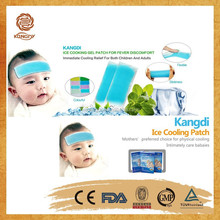 For baby fever Agent wanted soft & sticky mentholated cool patch cold pack