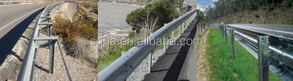 Дорожное строительство используется холоднокатаная барьер движения