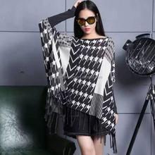 ขายส่งแฟชั่นยุโรป/usaสไตล์ผู้หญิงแฟนซีรูปแบบการถักเสื้อกันหนาวbg151085