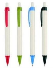 Super quality updated new retractable plastic ballpoint pen