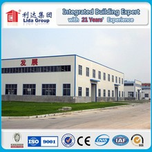 Prefabricated steel structure building space frame systems