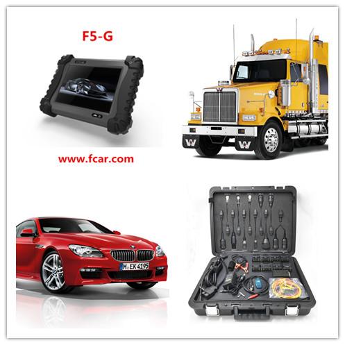 Pequeno carro de manutenção, Carro a gasolina de reparação, Abs escape, Programa key, FCAR F5 G FERRAMENTA de VERIFICAÇÃO
