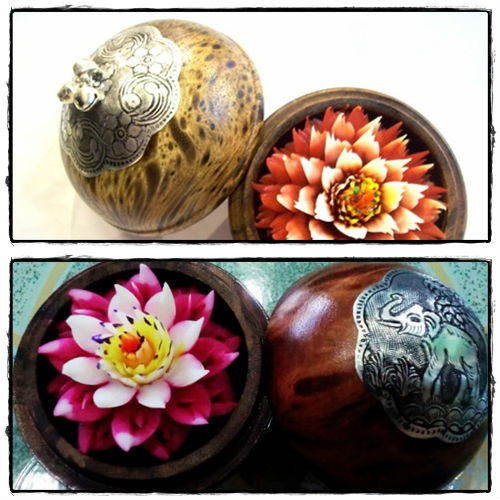 Thai handmade soap flower carving buy
