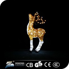 Hot sale Morden holiday/party/christmas acrylic decoration