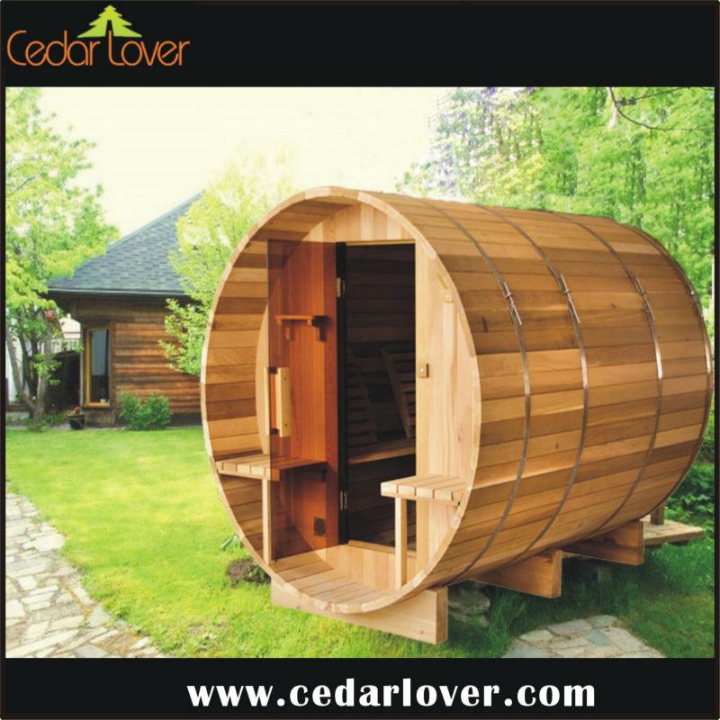 ext rieur en bois fabriquer famille beaut sauna portatif. Black Bedroom Furniture Sets. Home Design Ideas