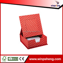 Red Round Dot Folded Design Birthday Gift Box Set
