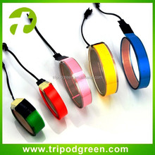 Glowing in the dark,el glowing strip for party and house decoration