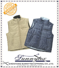 Made in China Clothing Wholesale Winter Outlaw Biker Vests