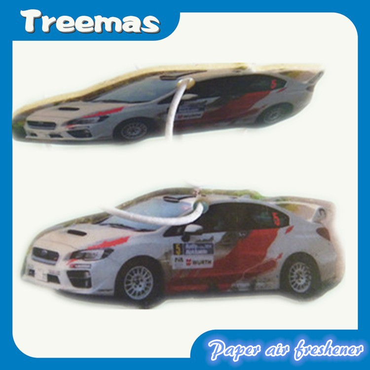 Customized hanging paper car air freshener L31