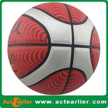 international standard size custom leather basketballs