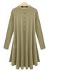 W30561H long sleeve plus size dresses women european style women dress 2015
