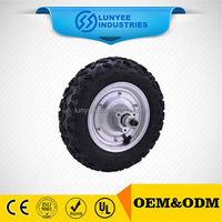 9inch BLDC electric wheel hub motor with brake and caliper