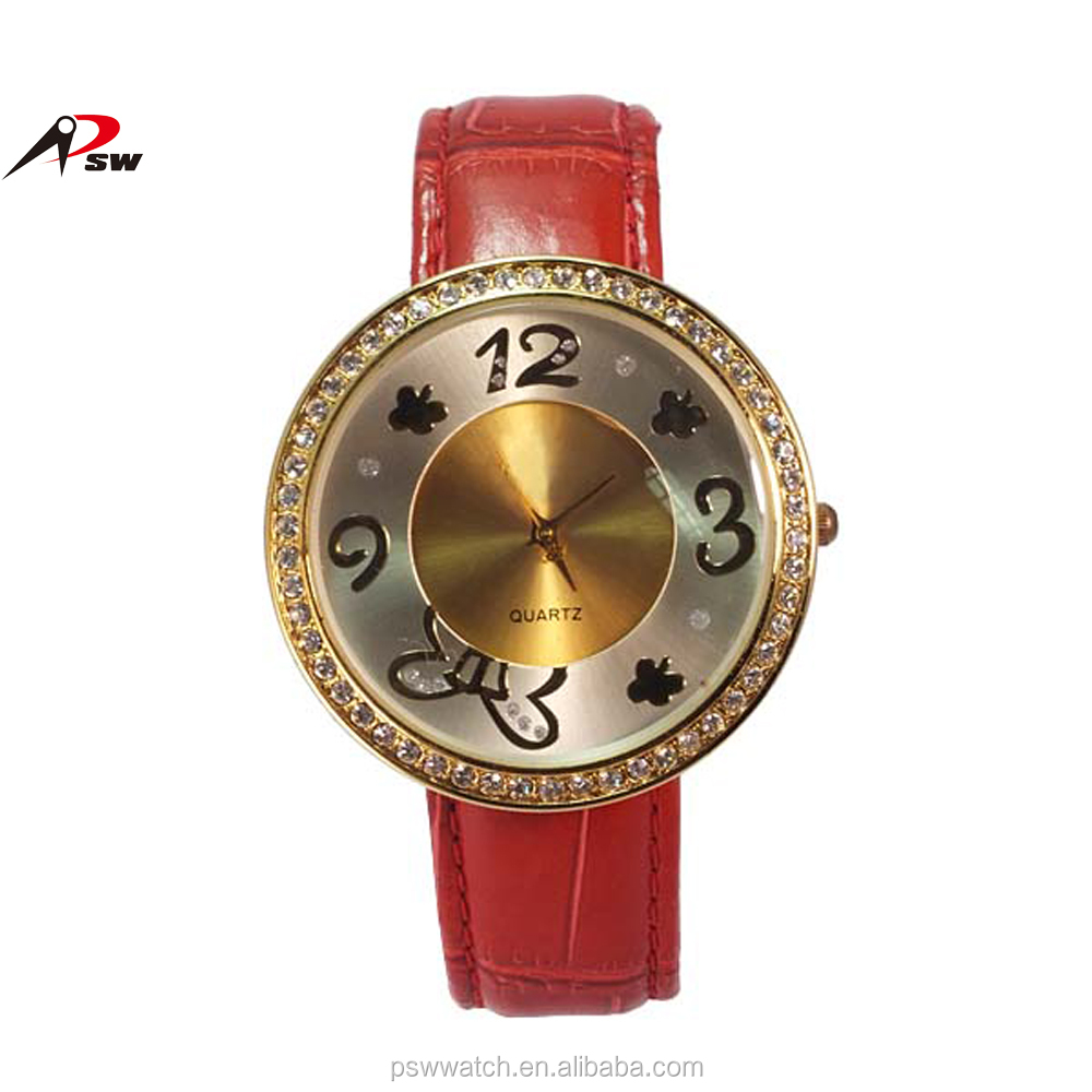 Luxury custom watch China watch,Japan quartz movt fashion lady watch