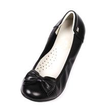 venta al por mayor real de la mujer de alta moda superior negro zapatos de vestir