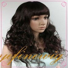 Natural Hairline Tight Curl Human Hair Full Lace Wig
