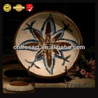 Customized handmade famous painting abstract ceramic sculptures