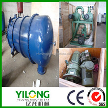 Totally Safe used hydraulic oil refining Filter heating by Thermal oil furnace