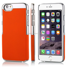 Top selling NCVM tech mobile phone rubber case for iphone 6 , customize color / pattern / logo