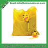 Yellow Duck Shape Shopping Bag / Duck Folding Bag / Duck Foldable Bag