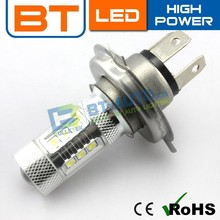 High Power Car Parts LED 12v 55w LED Bulb LED H4 Car Bulb H7 Auto Lamp