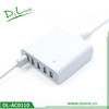 8A Heating 5 USB Multifunction Charger Universal Tool Battery Charger