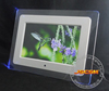 Factory supply 10inch led light acrylic digital photo frame support 1080p video for retail shelf advertising