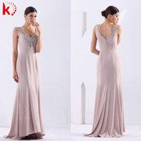 Hot Sexy Beading long evening gown dress for fat women big size evening dress