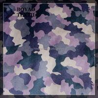 100% polyester camoflage transfer printing