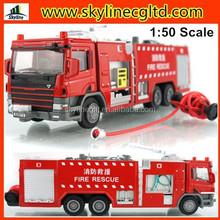 3C authentication 1:50 scale fire rescue alloy die cast car, die cast model toy for kids