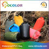 colorful 10l Waterproof Bag For Outdoor Sport Kayaking with shoulder straps for camping and swimsuit